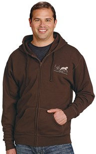 Casuals-Sweatshirts-and-Hoodies |  | Full Zip Hooded Sweatshirt