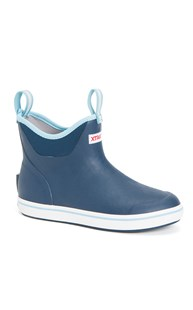 Outerwear-Boots-and-Work-Shoes |  | XTRATUF Women's Navy Ankle Boot