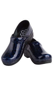 Shoes-Clogs |  | Sanita Clog Navy Print