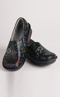 Shoes-Clogs |  | Alegria Herbaceous Print Clogs
