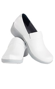 Clearance-Casuals |  | Dansko Work Wonder Clogs White Leather