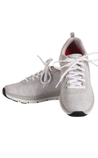 Shoes-Tennis-Shoes |  | Skechers Memory Foam Light Grey Work Shoe
