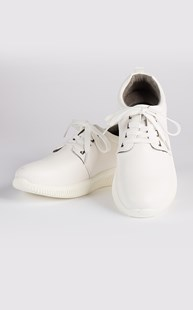 Clearance-Shoes |  | MediChic Lace Up Shoe White