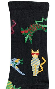 Footwear-Socks |  | Animal Socks Crazy Cats
