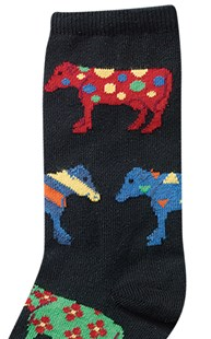 Shoes-Socks |  | Animal Socks Crazy Cows