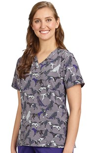 Scrubs-Animal-Prints |  | Carhartt Print Scrub Top - Painterly Hound