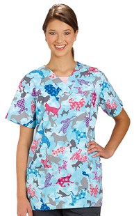 Scrub-Set-Special |  | Patchwork Pets Two Pocket Scrub Top