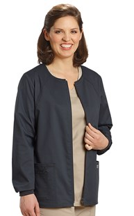 Scrubs-Classic-Cherokee-Core-Stretch |  | Cherokee Core Stretch Zip Front Scrub Jacket