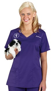 |  | Cherokee Core Stretch V-Neck Scrub Top