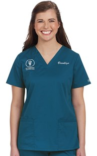 Scrubs-Classic-Cherokee-Core-Stretch |  | Cherokee Core Stretch Classic Two Pocket Scrub Top