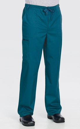Cherokee Luxe Men's Fly Front Scrub Pant Image