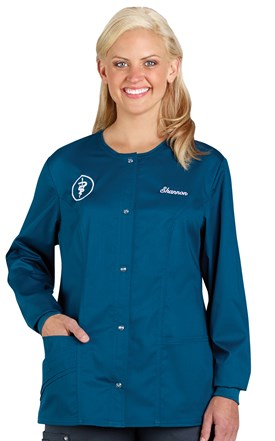 Cherokee LUXE Warm-Up Scrub Jacket Image
