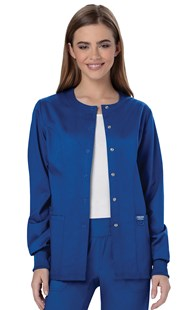 Scrubs-Classic-Cherokee-REVOLUTION |  | REVOLUTION Snap Front Warm Up Scrub Jacket