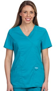 |  | REVOLUTION Mock Wrap Scrub Top