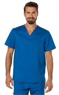 |  | REVOLUTION Men's V Neck Scrub Top