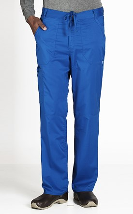 REVOLUTION Men's Fly Front Scrub Pant Image