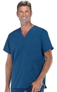 Scrubs-Classic-Cherokee-Workwear |  | Cherokee Workwear UNISEX Three Pocket Scrub Top