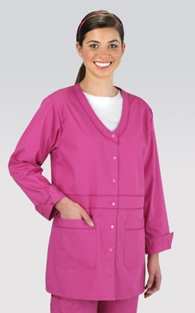 Cherokee Workwear Fashion Lab Coat Image