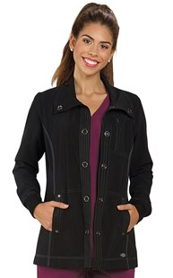 |  | Dickies Advance Snap Front Scrub Jacket