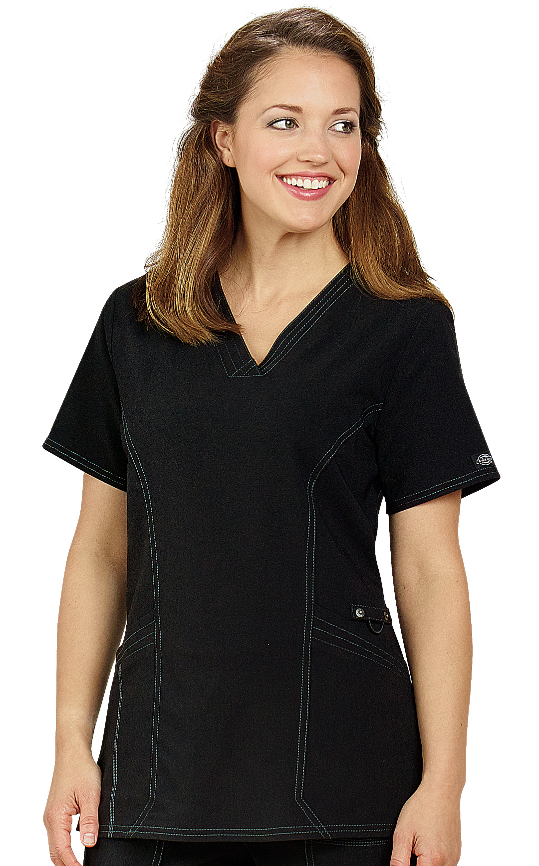 a13e515b43c Dickies Advance Front Seam Scrub Top | Veterinary Apparel