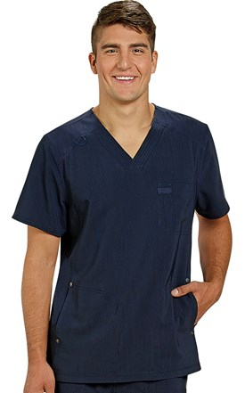 Dickies Advance Men's Scrub Top Image