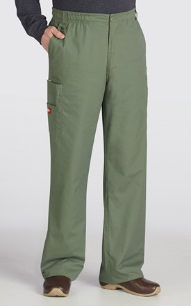 Dickies EDS Men's TALL Zip Fly Scrub Pant Image