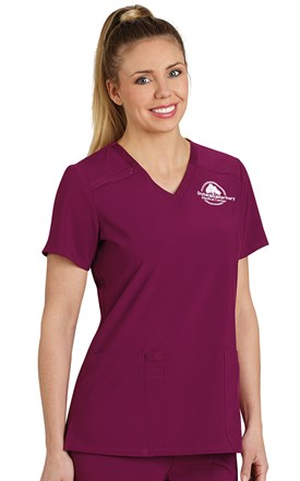 Dickies ESSENTIALS Two Pocket Scrub Top Image