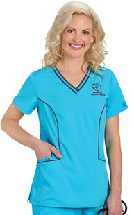 |  | Dickies Xtreme Stretch Contrast Trim Scrub Top