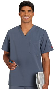 Scrubs-Premium-Dickies-Xtreme-Stretch |  | Dickies Xtreme Stretch Men's Scrub Top