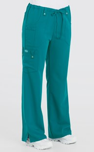 Scrubs-Premium-Dickies-Xtreme-Stretch |  | Dickies Xtreme Stretch Drawstring Flare Leg Scrub Pant