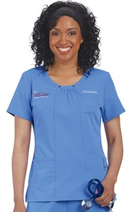 |  | Dickies Xtreme Stretch Scoop Neck Scrub Top