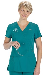 Scrubs-Premium-Dickies-Xtreme-Stretch |  | Dickies Xtreme Stretch Crossover Scrub Top