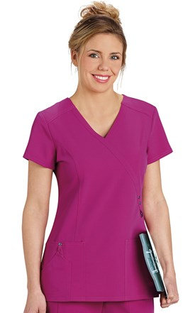 Dickies Xtreme Stretch Crossover Scrub Top Image