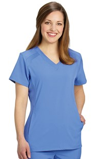 Scrubs-Premium-FIT-by-White-Cross |  | FIT V-Neck Scrub Top