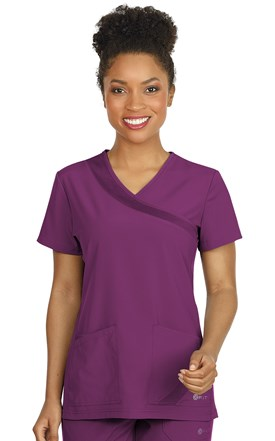 FIT Crossover Scrub Top Image