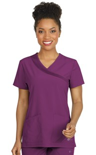 Scrubs-Premium-FIT-by-White-Cross |  | FIT Crossover Scrub Top