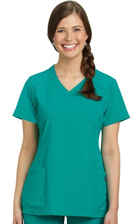 FIT Two Pocket Scrub Top Image