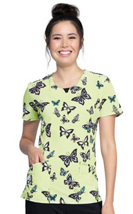 Fashion_Prints      Cherokee Infinity Print Top Let's Fly