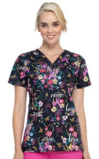 Fashion_Prints      Cherokee Print Top Bouquets of Hope