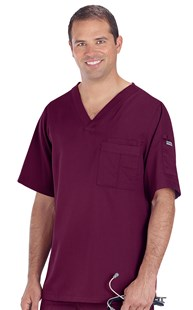 |  | Grey's Anatomy Men's V-Neck Scrub Top