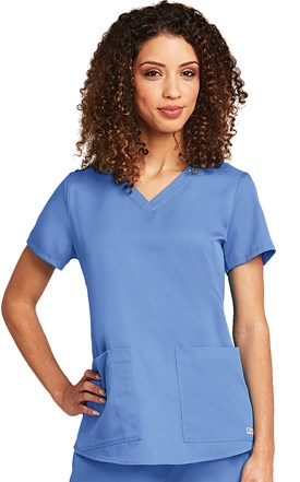 Grey's Anatomy Two Pocket Scrub Top Image