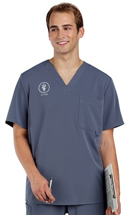Dickies Xtreme Stretch Men's Scrub Top Image