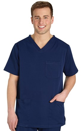 HH Works Men's Five Pocket Scrub Top Image