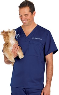 Scrubs-Premium-Healing-Hands |  | Healing Hands Men's Stretch Scrub Top