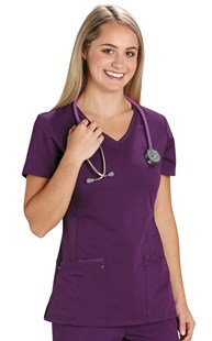 |  | Healing Hands Fashion Yoga Scrub Top