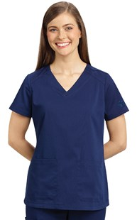 Scrubs-VAC-Exclusives-Hearts-and-Paws-Collection |  | Healing Hands Two Pocket Scrub Top