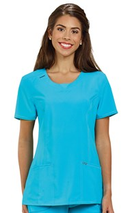 |  | Infinity Round Neck Scrub Top