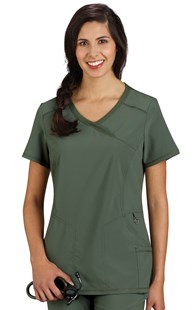 |  | Infinity Mock Wrap Scrub Top