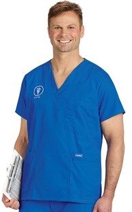 Scrubs-Classic-Landau_for_Men |  | Landau Men's 5-Pocket Scrub Top