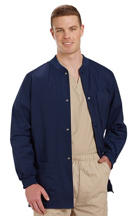 Landau Men's Warm-Up Scrub Jacket Image